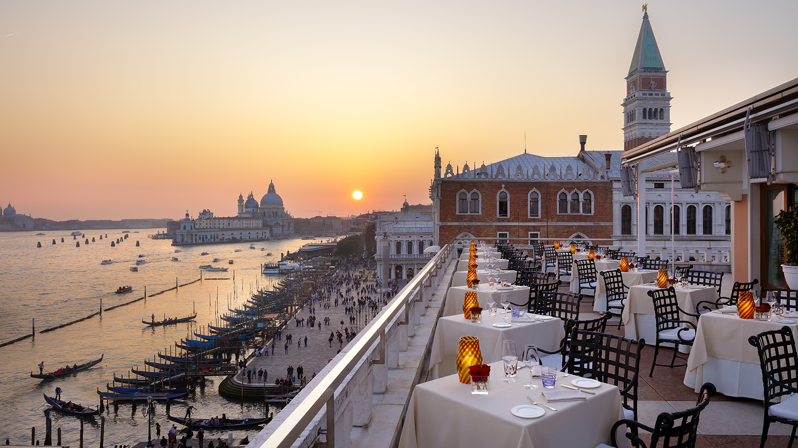 Terrazza Danieli with a view in Venice
